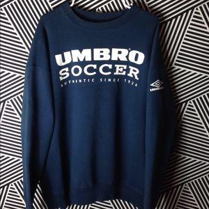 Vintage UMBRO Soccer 90s Crewneck Sweatshirt